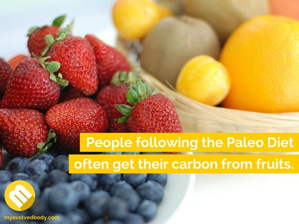 Fruit is important part of paleo diet