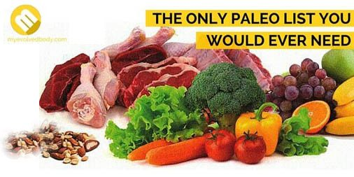 Only Paleo List