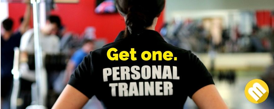 Get a personal trainer and learn how to lose weight!