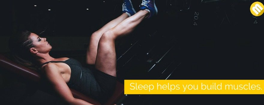 Build muscle while you sleep.