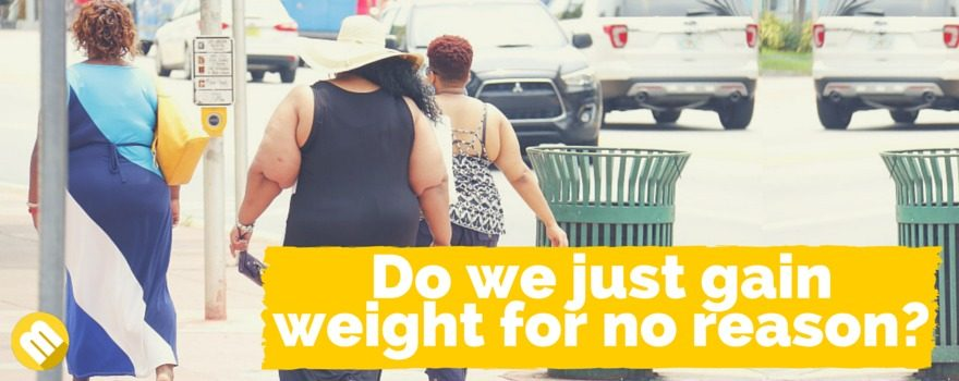 how do we gain weight?
