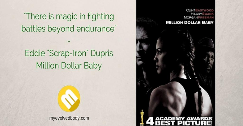 Million Dollar Baby quote