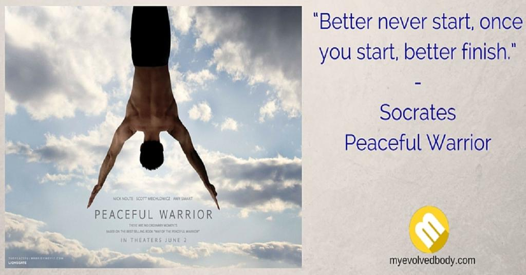 Peaceful Warrior Movie quote